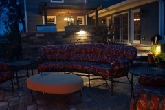 Outdoor Kitchen and Furniture with Lighting Near Neenah, WI