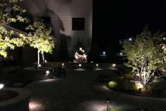 Prayer Garden Lighting in Appleton, WI