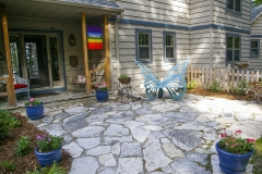 Natural Flagstone Patio In the Fox Cities