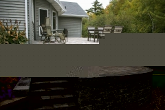Hardscape with Retaining Wall, Patio, and Stairs In Northeast Wisconsin