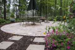 Paver Patio with Table and Chairs Near Appleton
