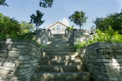 Grand Staircase with Retaining Walls  Near Shawano, WI