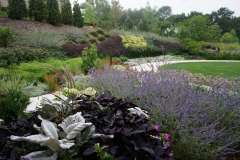 Perennial and Annual Beds Designed by Vande Hey Company