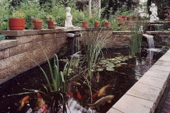 Landscaping Water Pond Feature in Oshkosh, WI