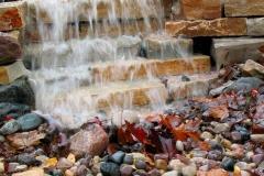 Landscaping Waterfall Feature in Kaukauna, WI